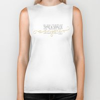 dr who Biker Tanks featuring Dr. Who Time & Space by Niki Addie Creative Design Co.