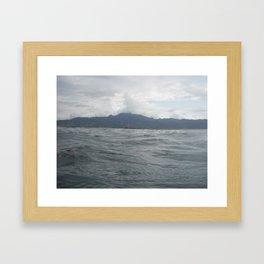 Mountain to the Sea Framed Art Print