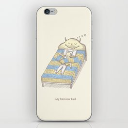 My Monster Bed iPhone Skin