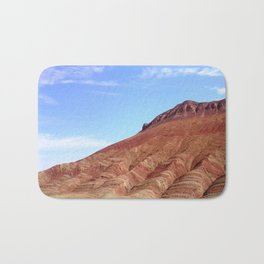 colorful mineral mountain photography 2 Bath Mat
