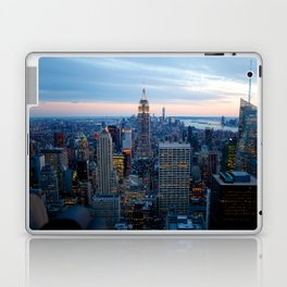 New York City Dusk Laptop & iPad Skin