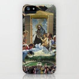 Modern Madonna & Child iPhone Case