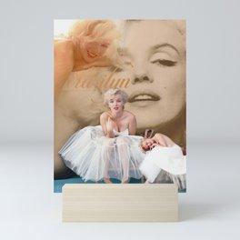 Marilyn Portrait Collage 3 Mini Art Print