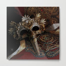 After The Ball Metal Print