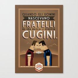 Poster Nostalgica - Fratelli Baresi Canvas Print
