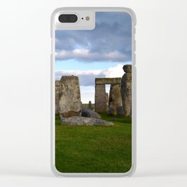 Mystery of Stonehenge Clear iPhone Case