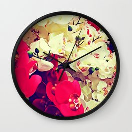 Orchidea boom Wall Clock