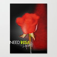 the rose escape Canvas Print