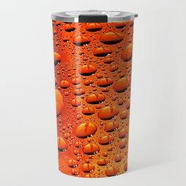 Raindrops on the Hood Travel Mug