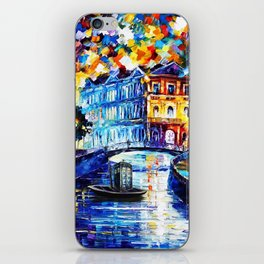 Tradis Art On The River Way iPhone Skin