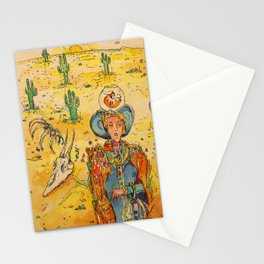 Apocalypse by Drought Stationery Cards