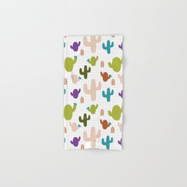 Cactus orange and green #homedecor Hand & Bath Towel