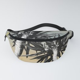 Cali Summer Vibes Palm Trees #1 #tropical #decor #art #society6 Fanny Pack