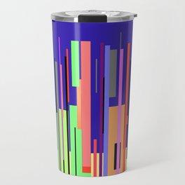 Modern Cityscape Travel Mug