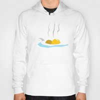 egg Hoodies featuring Egg by Gabe