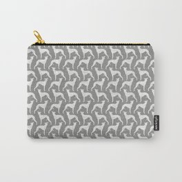 Whippet Silhouette(s) Carry-All Pouch