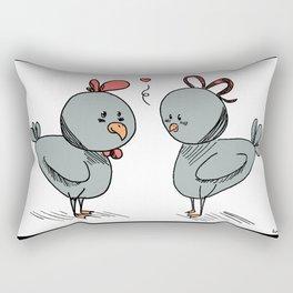Little chikens Rectangular Pillow