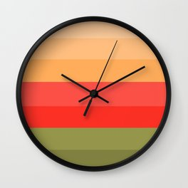 Martini Cocktail - Abstract Wall Clock