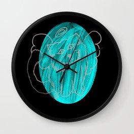 Angel Cat Wall Clock