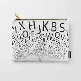 Spouting Letters Carry-All Pouch