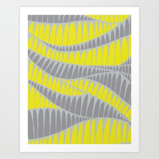 Sahara Desert in pastel colours 5 Art Print