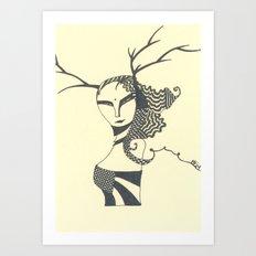 nymph Art Print