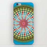 health iPhone & iPod Skins featuring Health Mandala - מנדלה בריאות by dotan yiloz