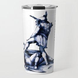 Gladiator Fighting Travel Mug