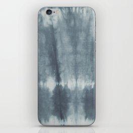 Tye Dye Gray iPhone Skin