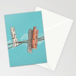 Boho Clothespin Stationery Cards
