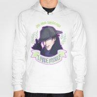 enerjax Hoodies featuring Sherlock - I Made Myself by enerjax