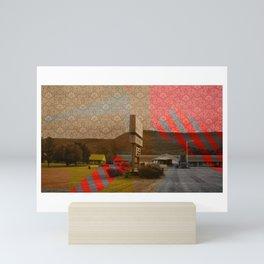 Routes Mini Art Print