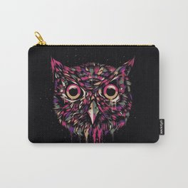 Colored Owl Carry-All Pouch