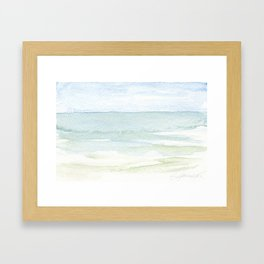 Sea Mist Framed Art Print