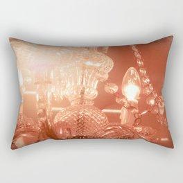 cinnamon chandelier Rectangular Pillow