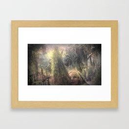 "VAMPLIFIED ""Cone of Power"" Framed Art Print"