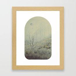 Into The Wolves' Den Framed Art Print