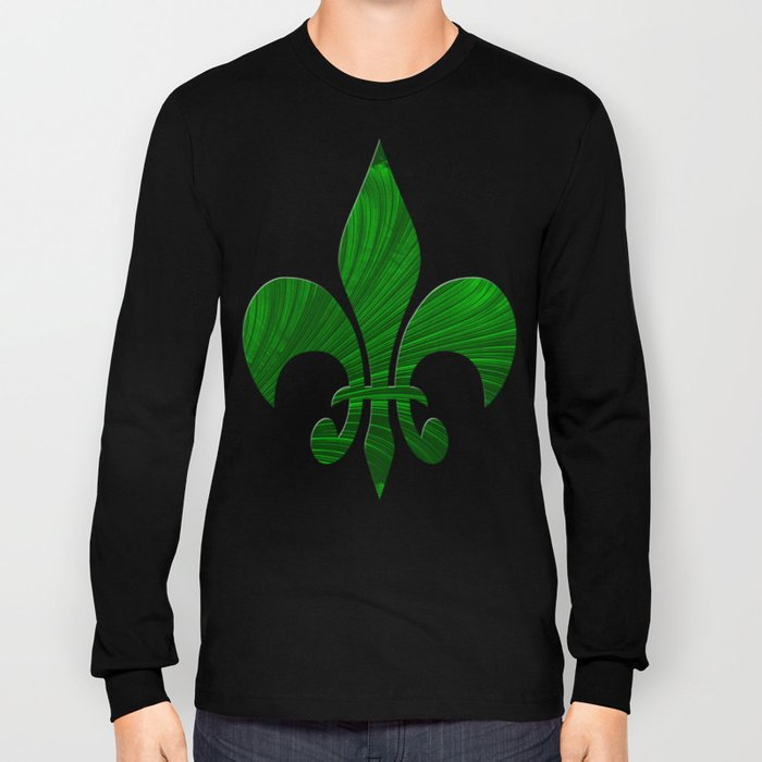 Renaissance Green Long Sleeve T-shirt