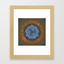 Commits Fancy Flower  ID:16165-142359-28270 Framed Art Print