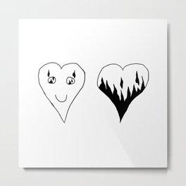Los Enamorados Metal Print