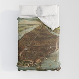 The City of New York (1883) Comforters
