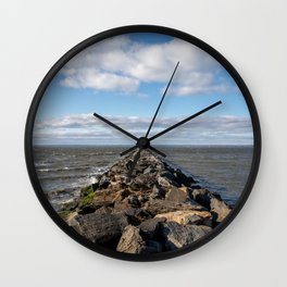 Breaking a Clearing Wall Clock