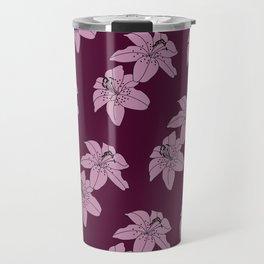 Lily The Tiger - Purple Travel Mug