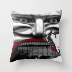 For Shame v2: Carnivale Throw Pillow