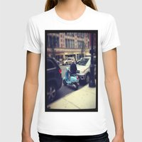 vespa T-shirts featuring Vespa by Alissa Fleck