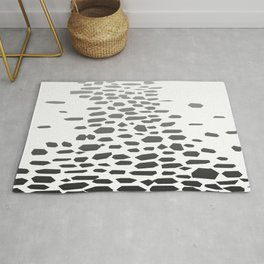Cobbled Street Background Rug