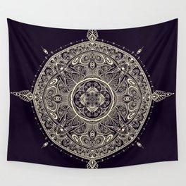 Mandala 1 (Dark) Wall Tapestry