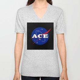 Ace Nasa Parody Unisex V-Neck