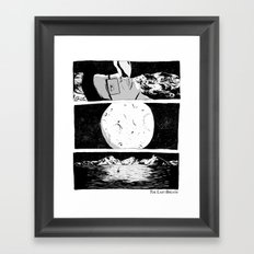The Last Breath Framed Art Print