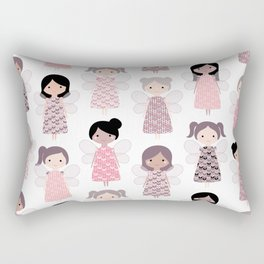 Yarn angels Rectangular Pillow